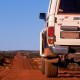 AUSTRALIA / Western Australia / Great Central Road / Toyota Landcruiser on Great Central Road  © Oliver Bolch / Anzenberger
